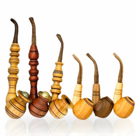 Wood Hand Pipes